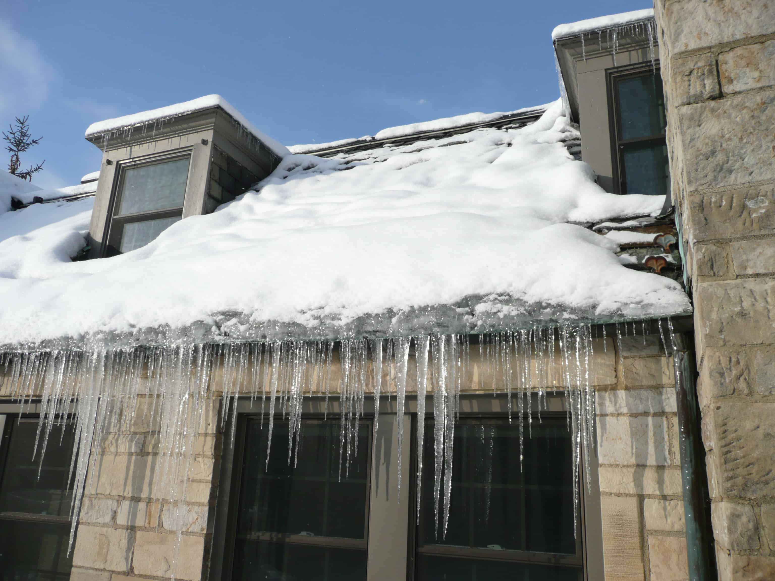 Ice, Icicles, and Ice Dams – Oh My!